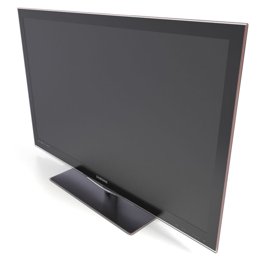 LCD TV Samsung LE46C650L1W royalty-free 3d model - Preview no. 2