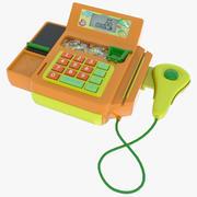 Toy Cash Register 3d model