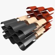 와인 랙 6 3d model