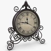 Классические настольные часы 3d model