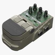 기타 이펙트 페달 라인 6 에코 파크 3d model