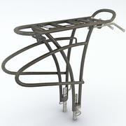 Bike Rear Rack 3d model