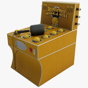 Whack A Mole Carnival Game 3d model