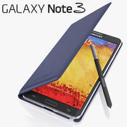 Samsung Galaxy Note 3 Cover 3d model