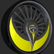 Dub Wheel Pack V2 3d model