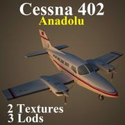 C402 AND 3d model