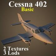 C402 Basic 3d model