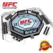 UFC octagon ring 3d model