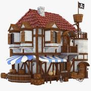Dom piratów 3d model