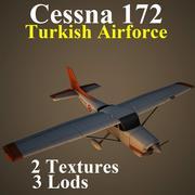 C172 TAF 3d model