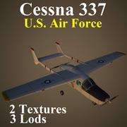 C337 USA 3d model