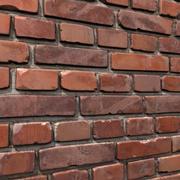 벽돌 벽 # 11 3d model