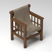 Mallet Chair 3d model