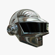 Silver Helmet 3d model