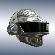 シルバーヘルメット 3d model