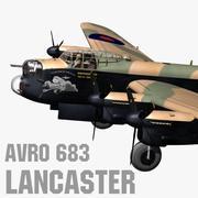 Avro 683 Lancaster 3d model
