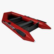 Надувная лодка 03 3d model