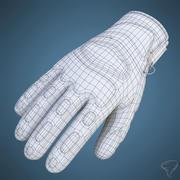 Перчатки для зимних видов спорта Reusch 3d model