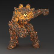Golem Animated 3d model
