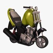 Minibike 3 VR 3d model