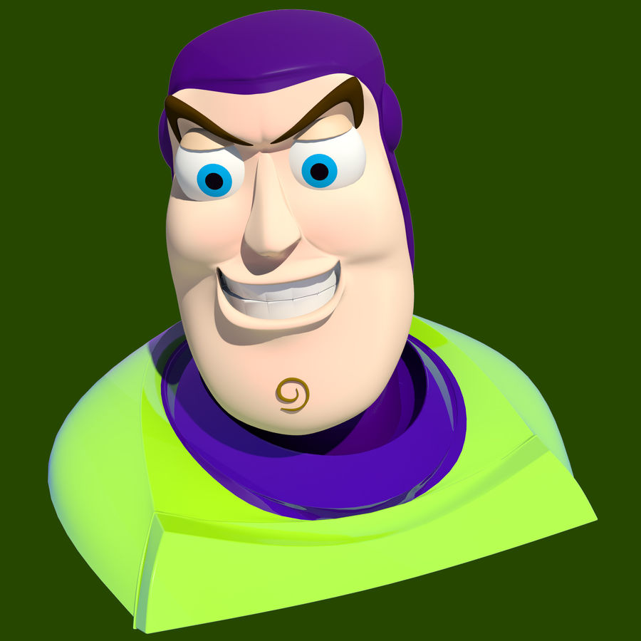 Buzz Lightyear royalty-free 3d model - Preview no. 1