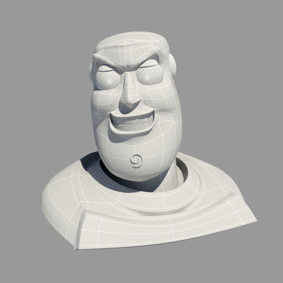 Buzz Lightyear royalty-free 3d model - Preview no. 9