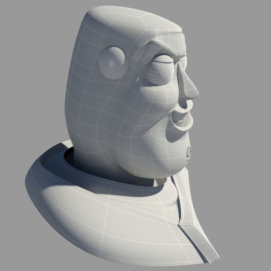 Buzz Lightyear royalty-free 3d model - Preview no. 8