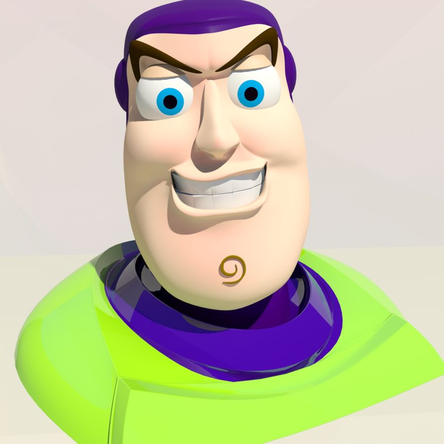 Buzz Lightyear royalty-free 3d model - Preview no. 5