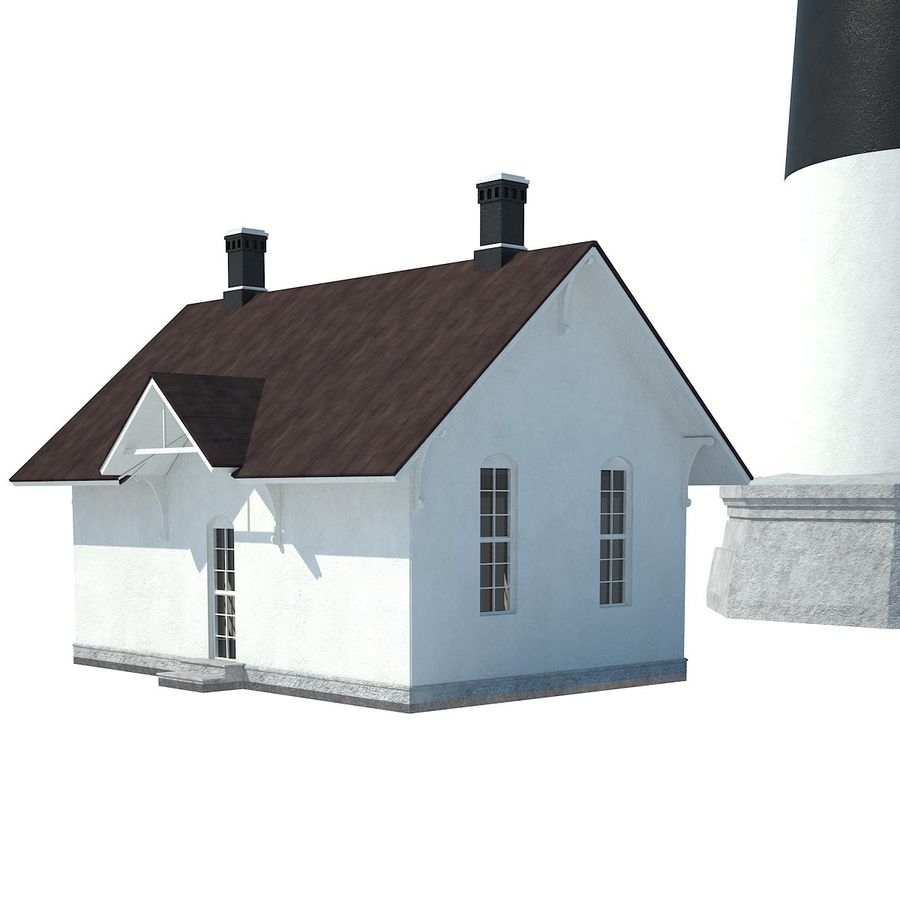 Lighthouse royalty-free 3d model - Preview no. 8