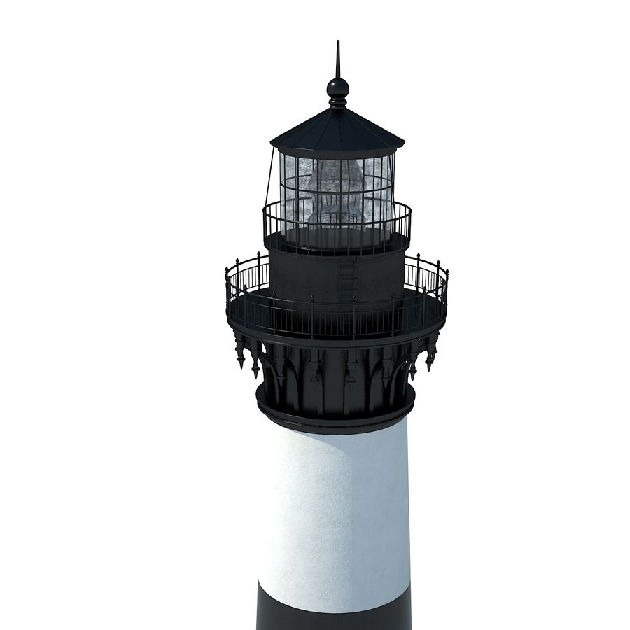 Lighthouse royalty-free 3d model - Preview no. 7