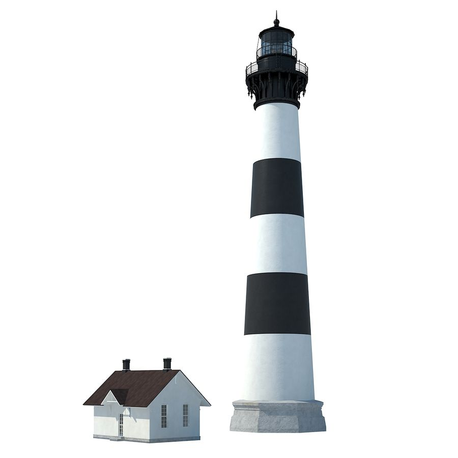 Lighthouse royalty-free 3d model - Preview no. 3