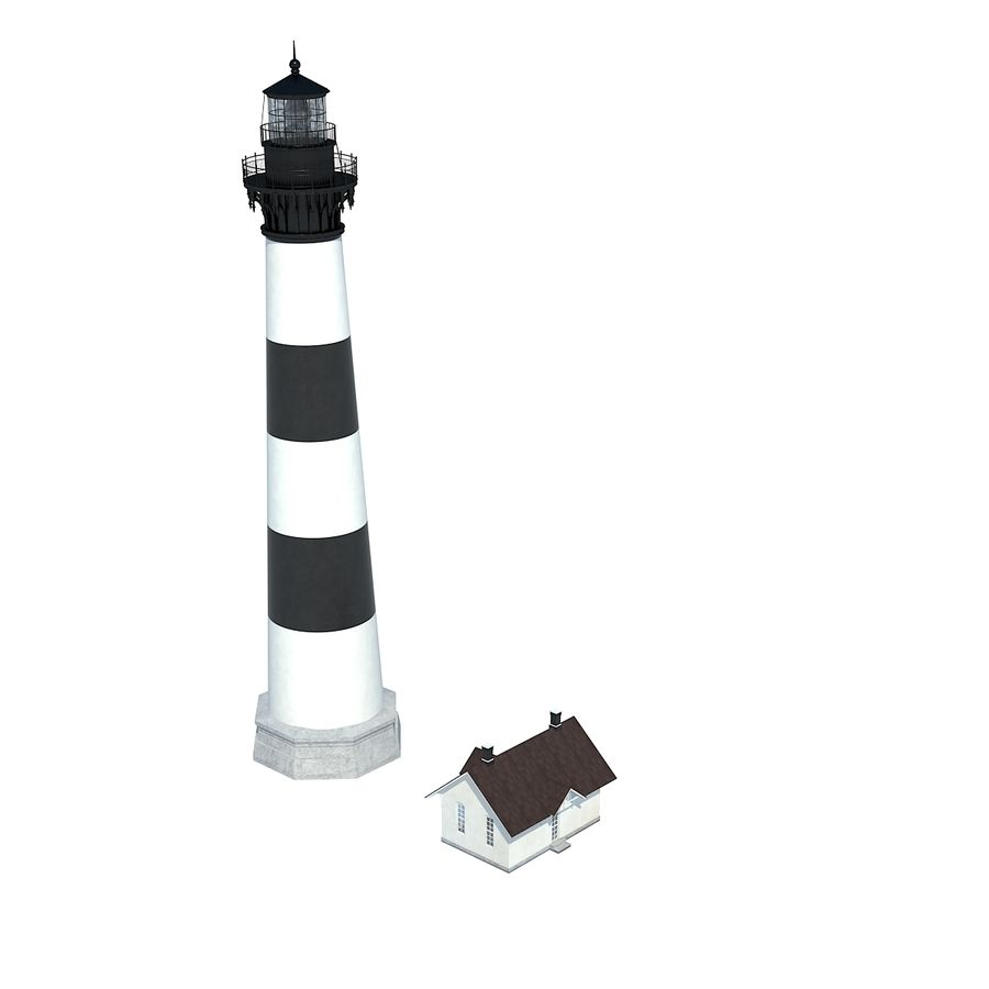 Lighthouse royalty-free 3d model - Preview no. 5