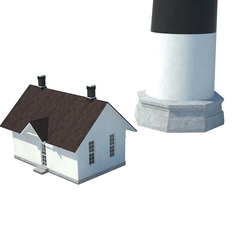 Lighthouse royalty-free 3d model - Preview no. 6
