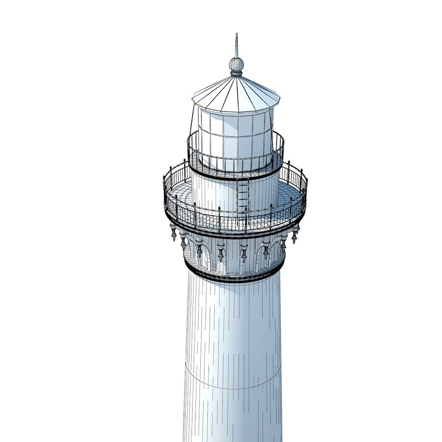 Lighthouse royalty-free 3d model - Preview no. 13