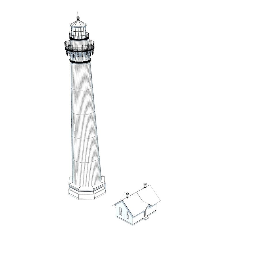 Lighthouse royalty-free 3d model - Preview no. 11