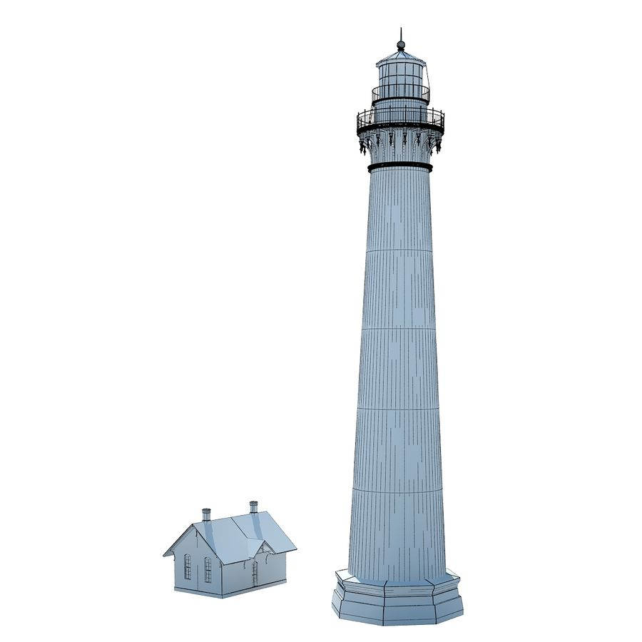 Lighthouse royalty-free 3d model - Preview no. 10