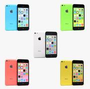 Apple IPhone 5C All Colors 3d model