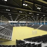 sports hall 3d model