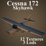 C172 3d model