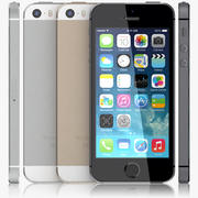 Айфон 5с 3d model