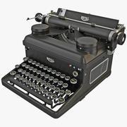 Máquina de escrever ROYAL 3d model