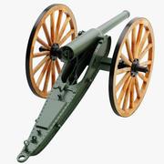 De Bange Cannon modelo 3d