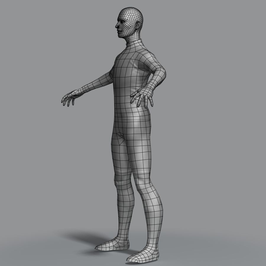 Racer royalty-free 3d model - Preview no. 9