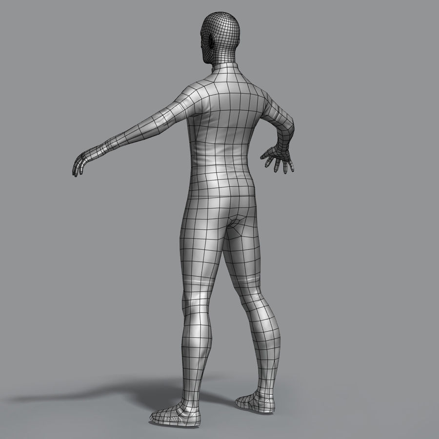 Racer royalty-free 3d model - Preview no. 10