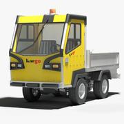 Elektryczny pojazd użytkowy 3d model