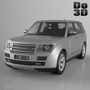 Land / Range Rover 2013 3d model