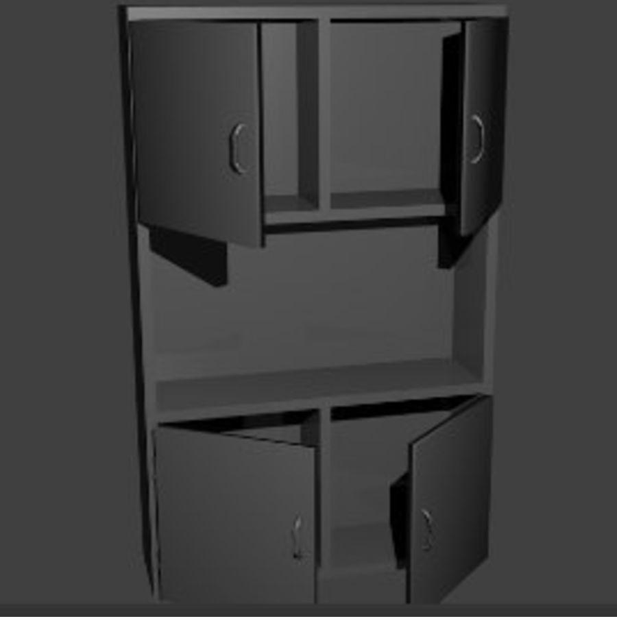 内阁 royalty-free 3d model - Preview no. 3