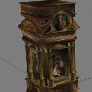 Altar da Igreja Românica 3d model