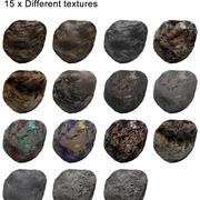 低聚小行星 3d model
