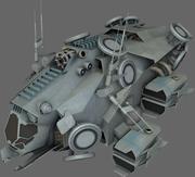 Stealth Recon Ship MS 3d model